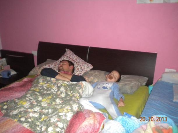 cosleeping con papà