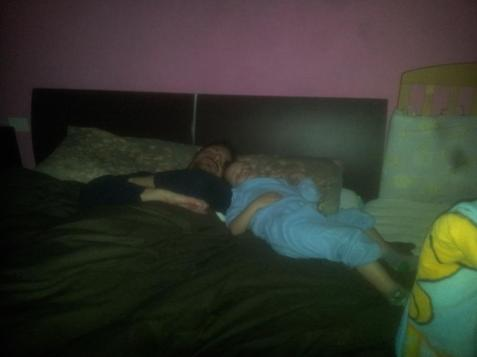 cosleeping con papà 2